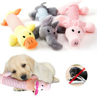 Soft Pet Puppy Play Chew Sound Funny Squeaker Squeaky Cute Plush Dog Toys Hot