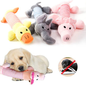 Soft Pet Puppy Play Chew Sound Plush Cute Squeaky Squeaker Funny Hot Toys Dog