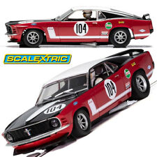 Scalextric C3926 Ford Mustang Boss 302 Frank Gardener Slot Car 1/32