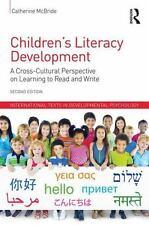 CHILDREN'S LITERACY DEVELOPMENT - MCBRIDE, CATHERINE - NEW PAPERBACK BOOK