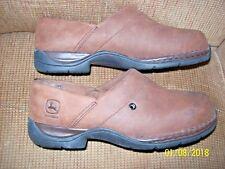 John Deere Steel - Toe Slip On Clog Shoes