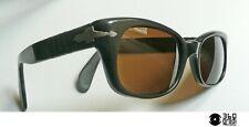 Meflecto Ratti (Persol) celluloide bronzo occhiali da sole vintage 1960 small