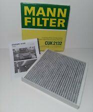 Cabin Air Filter MANN CUK 2132 fits 08-18 Smart Fortwo 1.0L-L3