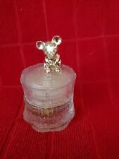 Vintage 1977 Avon Tree Mouse Jar