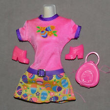 Barbie 1990s Clothes FASHION AVENUE Clothes Dress Easter Eggs Pink