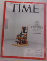 Time Magazine The Last Execution Capital Punishment June 2015 061215R