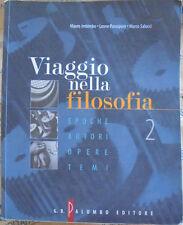 VIAGGIO NELLA FILOSOFIA VOL.2 - M.IMBIMBO L.PARASPORO M.SALUCCI - PALUMBO