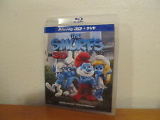 The Smurfs 3D Blu-ray - 2 Disc 3D Blu Ray / DVD - No UV
