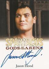 "Spartacus 2012: Gods of the Arena Jason Hood ""Cossutius"" Autograph Card"