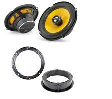 JL Audio C1-650x speaker upgrade for VW Golf Mk4 and Bora front doors