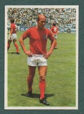 Bobby Charlton Manchester United Football Trading Cards