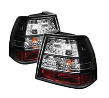 Volkswagen 99-04 Jetta MK4 Black LED Tail Brake Lights Sedan GLI GLX GLS GL TDI