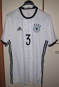 GERMANY 2016/2017 PLAYER ISSUE ADIZERO HOME FOOTBALL SHIRT JERSEY #3