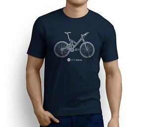 Retro Classics - Cannondale Super V T-Shirt T-Shirt Bike Ninja MTB