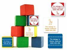 Custom Large Square Stick-on Labels - Oz Labels
