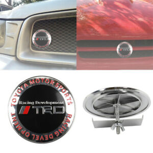 JDM TRD RACING DEVELOPMENT Plastic Emblem Badge For Cars Front Grille