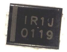 10 x 10BQ100 1A 100V schottky diode 10BQ100TR  IR1J 1R1J IRIJ
