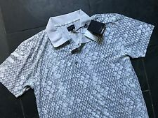 Paul Smith PS Patterned Polo with contrast collar  - L -  p2p 21""