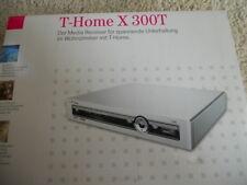 T-Home X 300 T Media Receiver 80 GB Festplatte T-Com Telekom