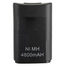4800mah BATTERIA NI-MH-controller per la XBOX 360 Microsoft Wireless Gamepad x1i6