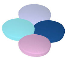 aa Pure Cotton Canvas 3D Round Box Shape Seat Chair Cushion Cover Custom Size