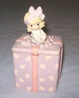 Enesco Precious Moments Trinket Box A Mothers Love is the Best 2003