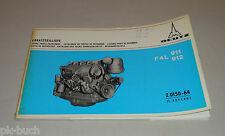 Teilekatalog Deutz Diesel Motor F4L 911 912 Stand 05/1972