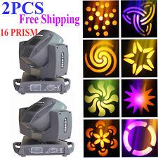 2PCS 230W 7r sharpy beam Moving Head stage lighting DMX512 disco light 16 Prism