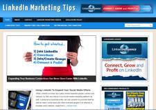 Linkedin Marketing Blog Plus Ready Made Affiliate Website Free Hosting Setup