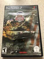 Seek and Destroy Sony PlayStation 2 PS2 Video Game Complete Tested CIB