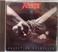 Accept - Objection Overruled (CD 1996)