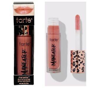 Tarte Maneater Plumping Lip Gloss BUFF Full Size 3ml/1 oz. Nourishing Plump NIB
