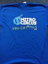 Nitro Circus UK  tour shirt 2018. Size XL.