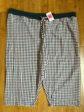 NWT MARKS & SPENCER SHORT CROPPED PYJAMA BOTTOMS WITH SILVER SHIMMER - SIZE 18
