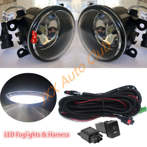For Mitsubishi Eclipse Endeavor 2006-2012 LED Fog Light Driving w/ Harness k Set