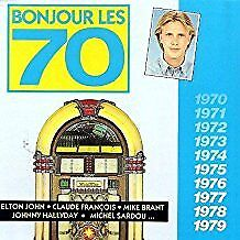 BROWN James, CHRISTOPHE... - Bonjour les 70 - CD Album