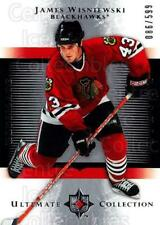 2005-06 UD Ultimate Collection #199 James Wisniewski