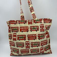 Harrods Bags -Red London Bus Design London Sovenier Gusset UK Special Edition