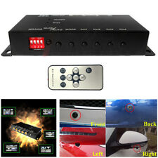 Auto 4-Way Video Switch Parking Camera 4 View Image Split-Screen Control  5-12V