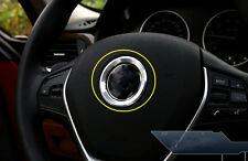 Car Inner Steering Wheel Centre Mark Cover Trim Fit For BMW X5 E70 2011-2014