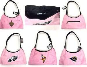 Licensed Pink BCA Embroidered Purse Handbag - New