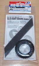 Tamiya 54836 T3-01 Front Caramel Block Tire/Tyre (Dancing Rider/T301), NIP