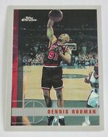 1997-98 TOPPS CHROME Basketball DENNIS RODMAN Card #106 EX-NM Bulls Last Dance