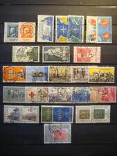 REPUBBLICA 1952 - 1953 - 1954 - 1955 - 1956 - 57 - 58 - 59 ANNATE COMPLETE USATI