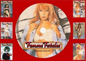Femme Fatales magazines On PC DVD Rom (CBR FORMAT)
