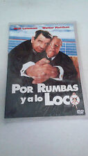 "DVD ""POR RUMBAS Y A LO LOCO"" JACK LEMMON WALTER MATTHAU"