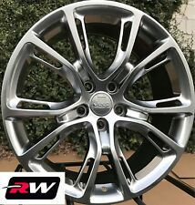 Jeep Grand Cherokee SRT8 Spider Monkey OE Replica Wheels 20x10 Hyper Silver Rims