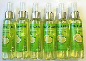 Limon Kolonyasi 80° Kölnisch Wasser  Kolonya  Lemon Duftwasser Spray  6x 100 ml