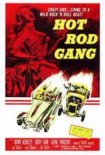 HOT ROD GANG Movie POSTER 27x40 John Ashley Jody Fair Steve Drexel Scott Peters