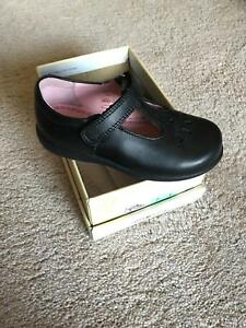 Start-rite Daisy May leather first school shoe Size 8H WIDE FIT At Sale £25.00